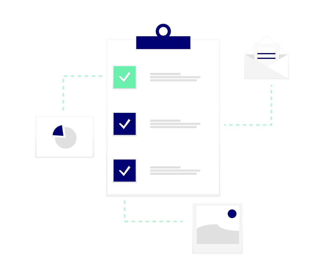 Checkliste mit Informationen zu Marktforschung