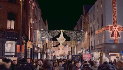 Weihnachtszeit in der Innenstadt