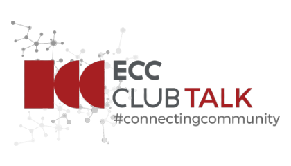 Logo ECC CLUB TALK #ConnectingCommunity