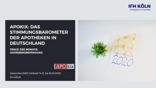 APOkix Dezember Jahresendbefragung Coverbild