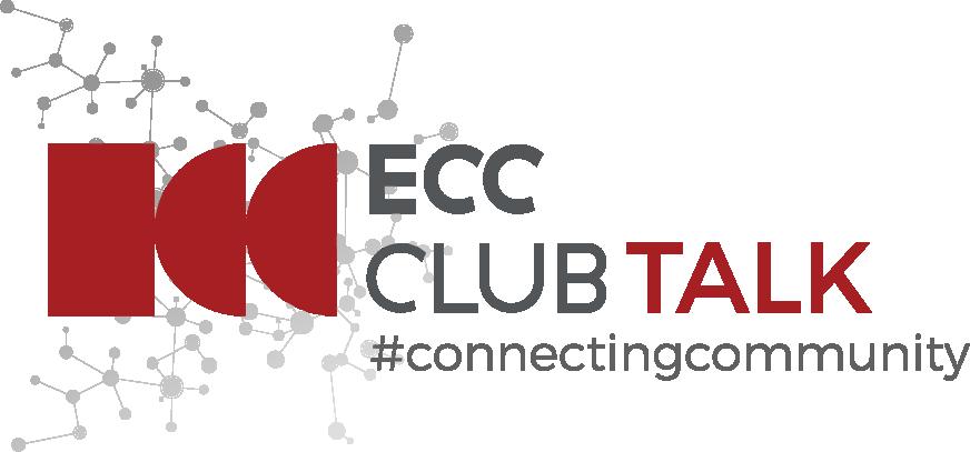Logo ECC CLUB TALK #ConnectingCommunity