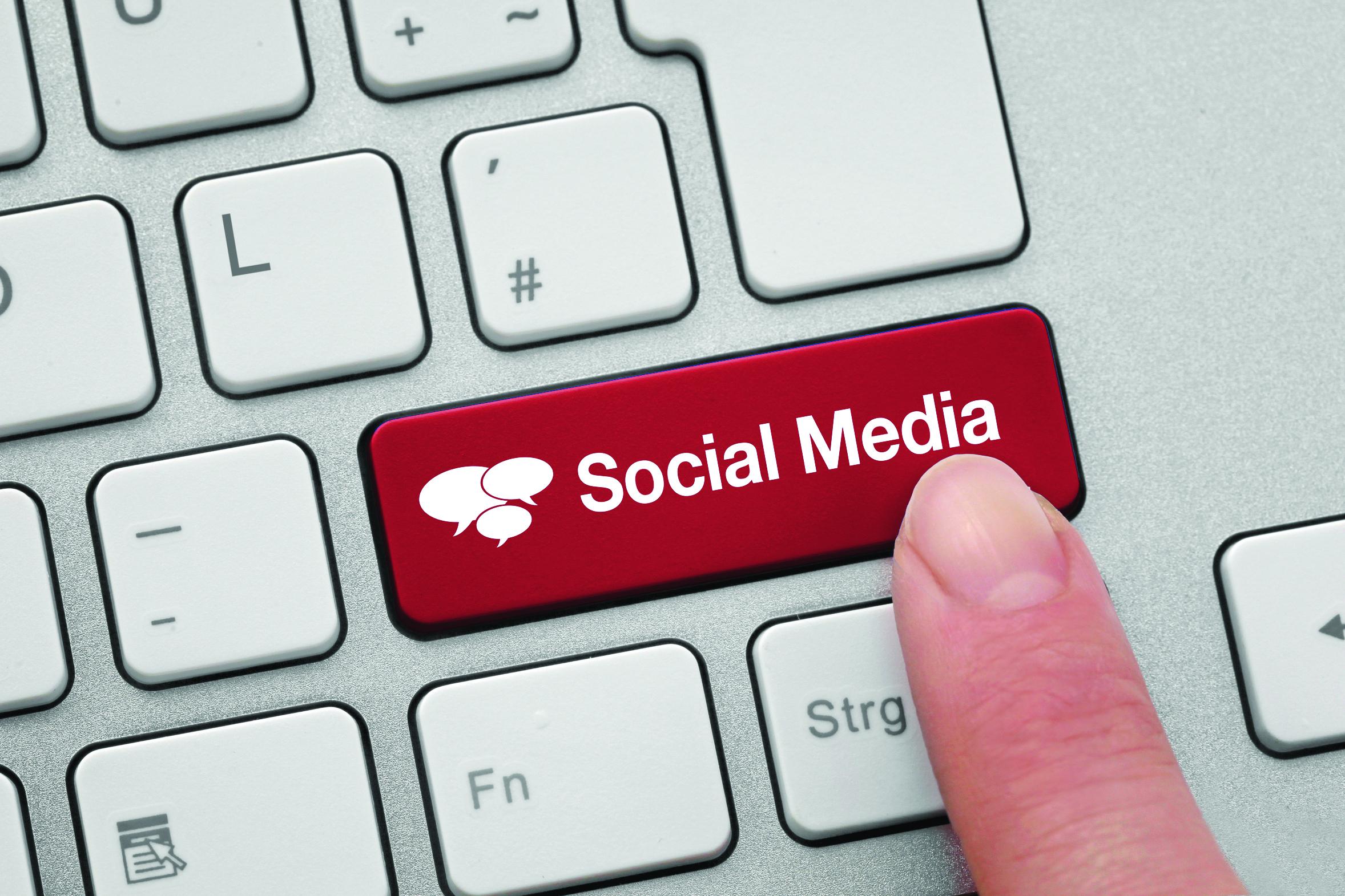 Social Media mit einem Klick