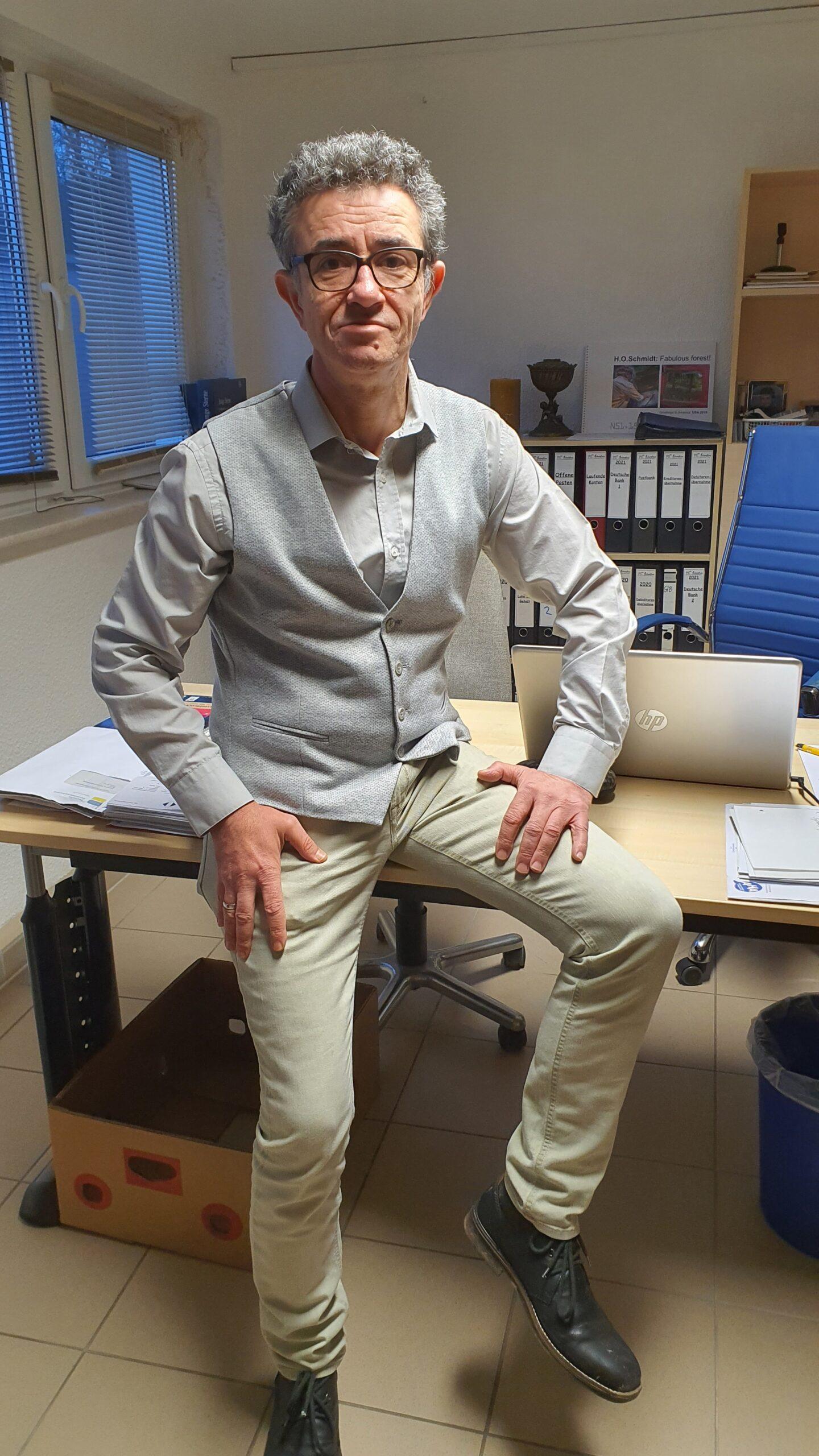 Seyfullah Alli, Geschäftsführer Schwefisco