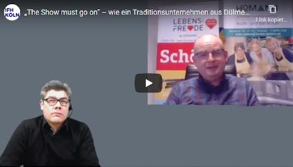 Boris Hedde im gespräch mit Bern Homann aus Dülmen