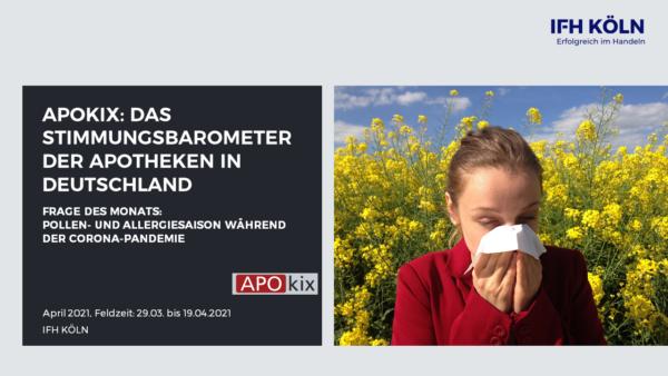 APOkix April 2021 Pollensaison während der Coronapandemie